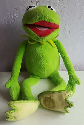 """Official Disney Kermit The Frog Soft Toy, Plush, Muppets, Approx 15"""" Tall."""