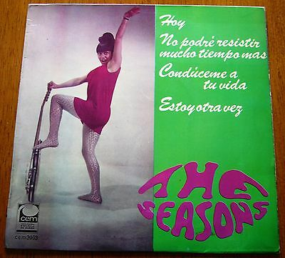 "THE SEASONS 7""EP Hoy + 3 (CEM cem3003 - SPAIN 1967) ALEJANDRO MEDINA PRE-MANAL"