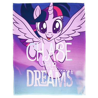 My Little Pony Movie Adventure Girls Bedding Fleece Blanket Throw New Gift Xmas