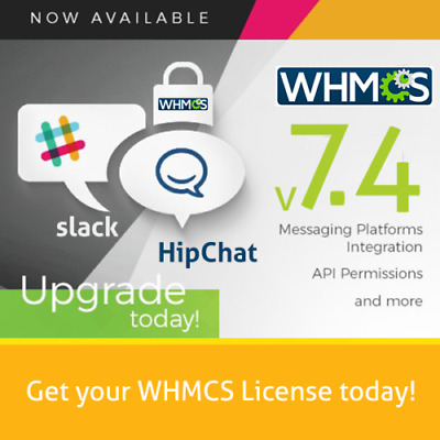Brand New 7.3.0 Genuine Lifetime WHMCS Unlimited Client License.