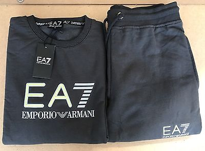 Emporio Armani EA7 Sport Slim fit Tracksuit for Men/ Smoke Grey/ Large RRP £150
