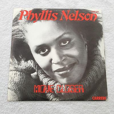 """12"""" Phyllis Nelson Move Closer 1984."""