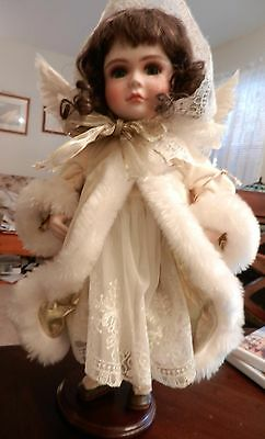 """Ellenbrooke Doll """"Snow Cherub""""  with box and authenticity papers"""