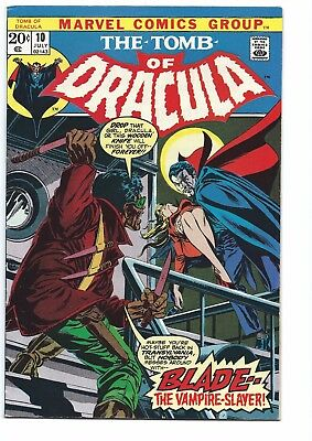 Tomb of Dracula #10 (Jul 1973, Marvel) 1st Appear. of Blade, the Vampire Slayer!