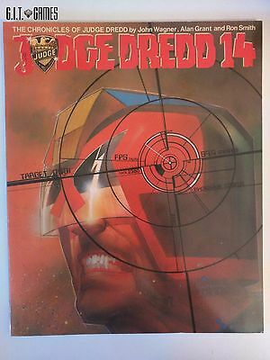 The Chronicles of JUDGE DREDD 14 by John Wagner Titan Books 1987