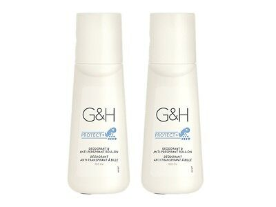 2x G&H PROTECT+™ Deo Deodorant und Anti-Perspirant Roll-on (2x 100 ml) / Amway