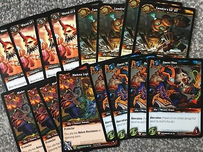 World Of Warcraft TCG Lot / Bundle - WorldBreaker - Commons / Uncommons