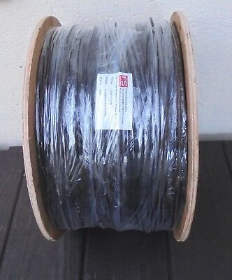 500M REEL 4 x 0.22mm2 FOIL SCREENED PUR CABLE - NEW - BLACK - REDUCED FROM £275