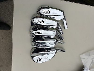 (NEW) KZG Forged Blades Japan NOS New 7,8,9,PW,SW  (5) Heads  Kyolei !!