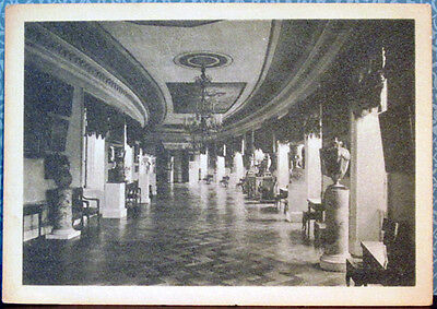 Scarce Soviet postcard THE PICTURE-GALLERY IN PAVLOVSK MUSEUM
