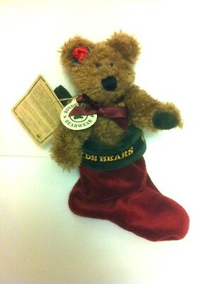 Christmas Boyds Bears Archive Collection Teddy Bear Plush Toy Felicity S Elfbera