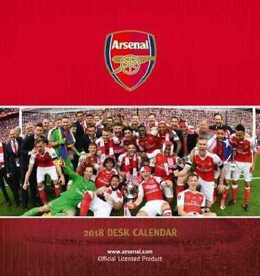Arsenal Football Club Official 2018 Desk Easel Calendar Calender AFC Gunners