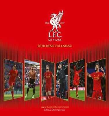Liverpool Football Club Official 2018 Desk Easel Calendar Calender LFC Anfield