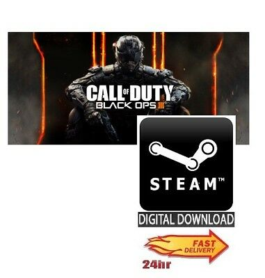 Call of Duty: Black Ops III 3 + Nuk3town PC Steam UK EU Global **FAST DELIVERY**