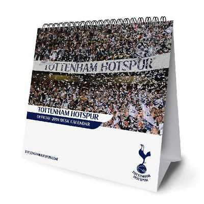 Tottenham Hotspur Football Club Official 2018 Desk Easel Calendar Calender THFC