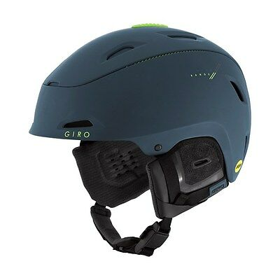 Giro Adult 2017 Snow Range MIPS Helmet Medium Org. $250 Matte Turbulence/ Lime