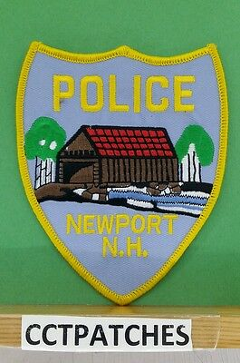Newport, New Hampshire Police Shoulder Patch Nh
