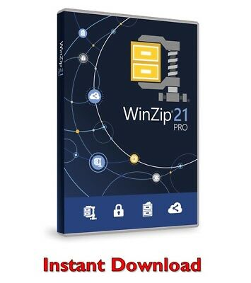 WinZip 21 Pro LATEST VERSION Instant Download WORLDWIDE