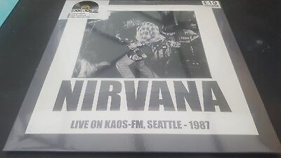 Nirvana Live on Kaos-FM Seattle 1987 Record Store Day 2016 Sealed Numbered 460