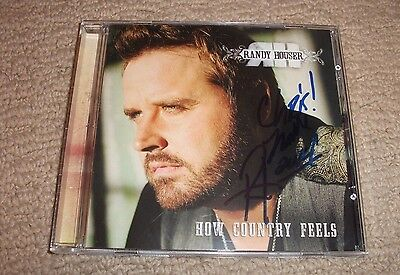 Randy Houser - Signed How Country Feels Cd *autographed* In-Person! Country Star
