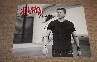 Dierks Bentley - Autographed 8X10 Promo Photo *signed* Country Music Star