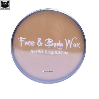 HALLOWEEN Wax Putty Face Body Skin Fancy Dress Stage Makeup Facial Scar Wound