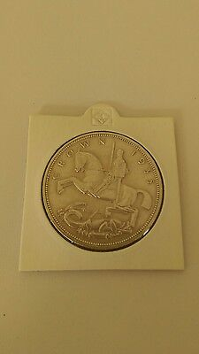 1935 full silver crown excellent condition.