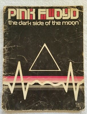 Vintage 1973 Pink Floyd Dark Side Of The Moon Songbook