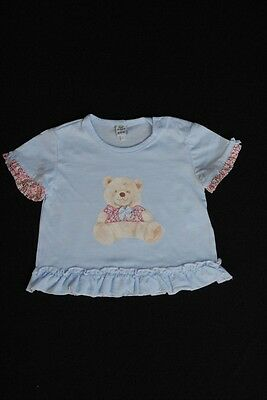 T-shirt fille Taille 3 mois 100% coton NEUF