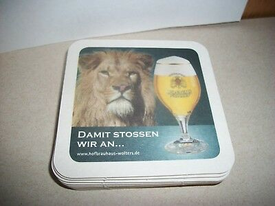 10- Brand New- Wolters Pilsener- Beer Coasters