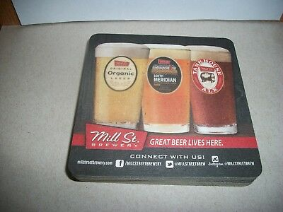10- Brand New- Mill Street Brewery- Beer Coasters