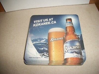 10- Brand New- Kokanee- Beer Coasters