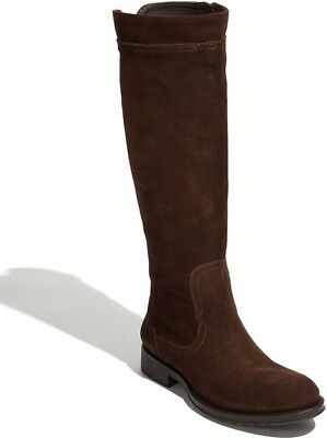 b45ec7c4096 CAMPER 45642 SPIRAL BOOT BROWN LEATHER KNEE-HIGH BOOTS size WOMEN S ...