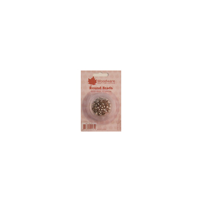 Woodware 6mm Brads - Silver