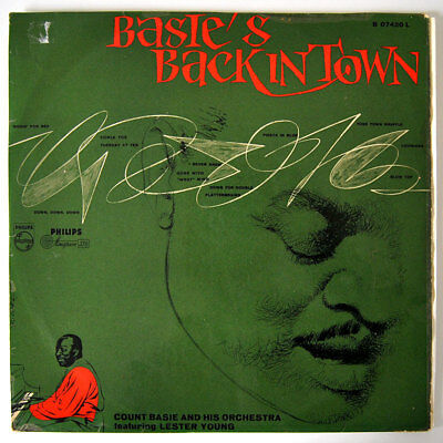 Original LP / Vinyl COUNT BASIE: Back In Town, 1955