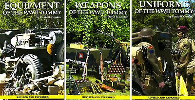 WWII Tommy 3-Book Photo Reference Book Series - British Canada Army Airborne /|