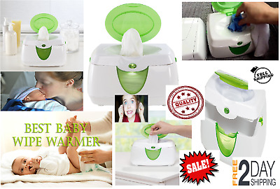 Babys adult Warm Glow Wipe Warmer Soft night light auto shut-off For nose mouth