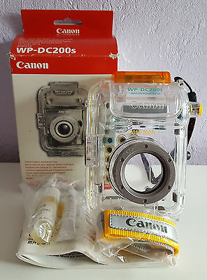 Canon WP-DC200s Underwater Housing Camera Case, A20,A30, A40, Boxed With Extras.