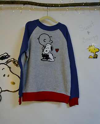 130 Blue Peanuts Hanna Andersson Charlie Brown Snoopy Sweater