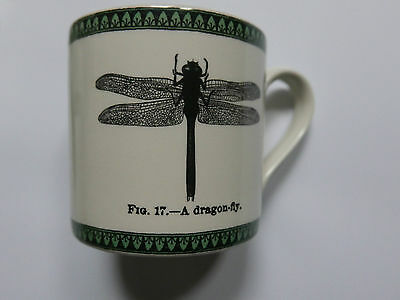 EDWARD CHALLINOR collectable MUG Dragonfly Pack 4 Royal Stafford
