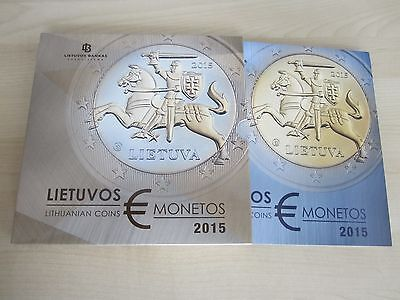 Lithuania set of Euro coins 2015, from the mint - PROOF