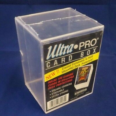 Ultra Pro - Trading Card Solid Deck Box Storage - 5 boxes