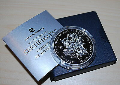 Lithuania 2013 Lithuanian Presidency of the Council of the EU, Silver PROOF coin
