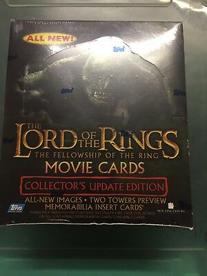 Lotr Fellowship Of The Rings Movie Cards