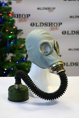 Gas Mask GP-5 filter hoses Gray Soviet Russian NEW Vintage WW2 USSR ORIGINAL