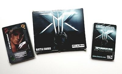 Dailymail X-men The last Stand Battle cards 2006 card set