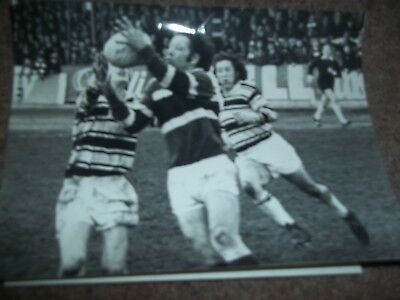 Vintage Rugby League Press Photo Hull V Hunslet April 1977 Hull Daily Mail