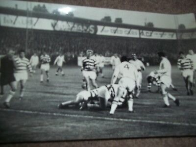 Vintage Rugby League Press Photo Hull V Halifax 30Th August 1968