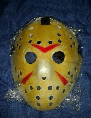 Jason Voorhees Friday the 13th Horror prop mask**New and Bagged**