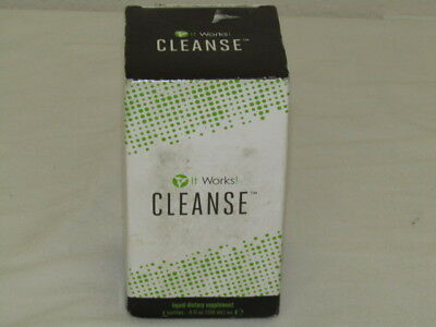 It Works Cleanse Liquid Dietary Supplement 4oz - 4 Bottles New 06/2018 or Later